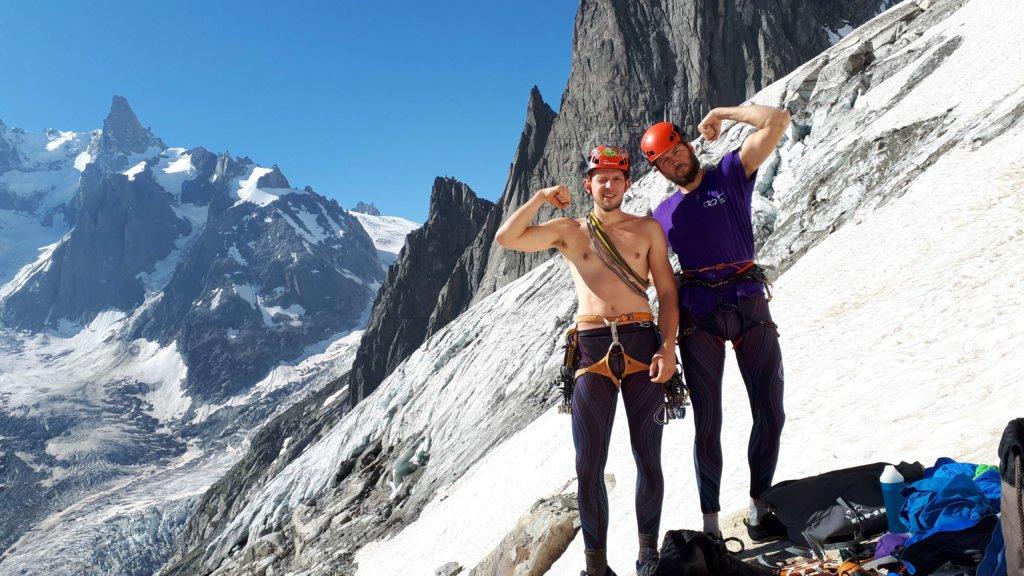 wspinanie w Chamonix